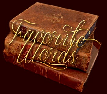 Favorite words